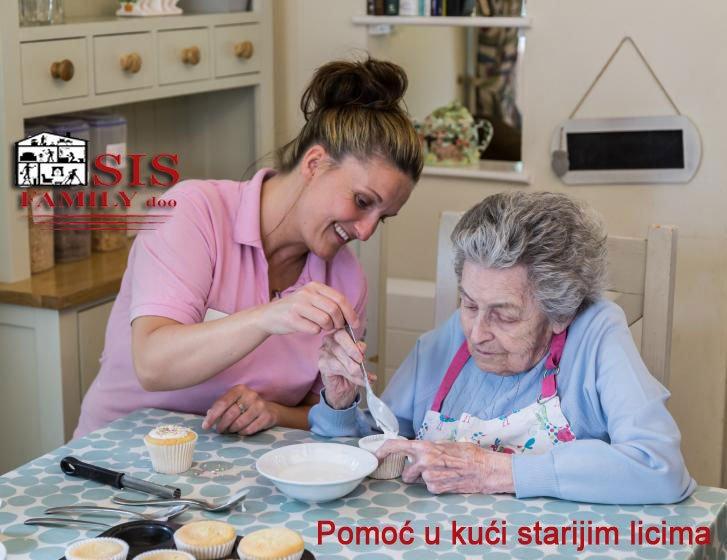 Pomoc u kuci starijim osobama