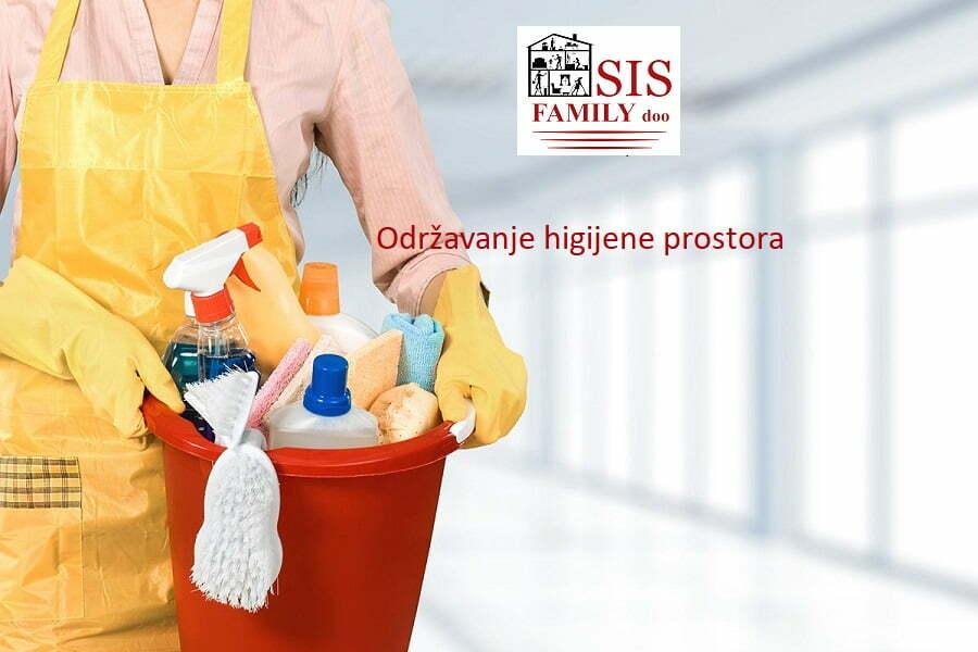 Odrzavanje higijene prostora - SIS FAMILY